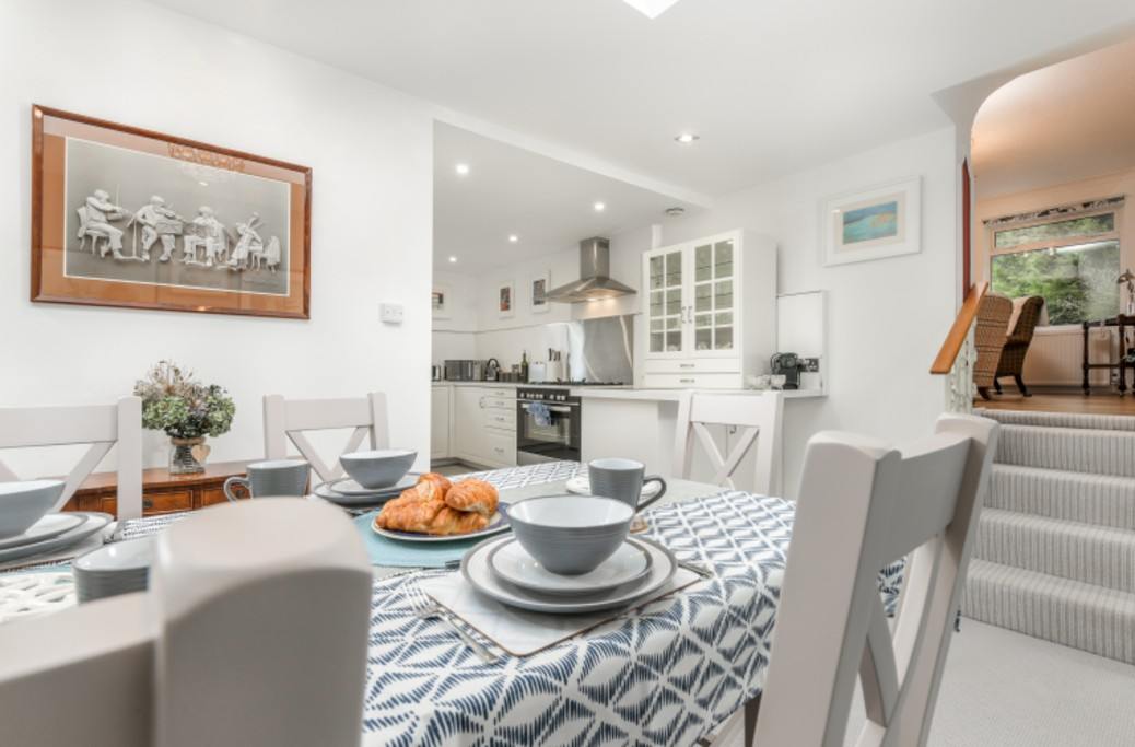 Dining Room -The Braeside Apartment
