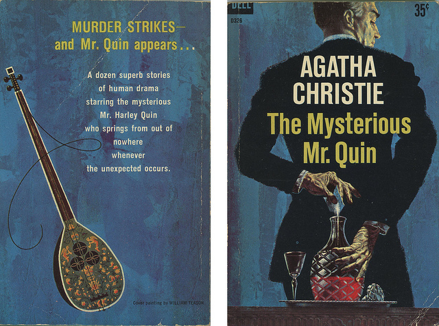 Harley Quin- one of Agatha Christie's other detectives.